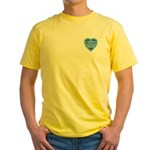 Adanvdo Heartknot Yellow T-Shirt