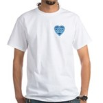 Adanvdo Heartknot White T-Shirt