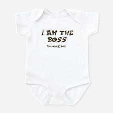 they wipe my butt Infant Bodysuit