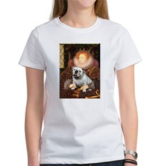 The Queen's English BUlldog Women's T-Shirt