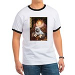 The Queen's English BUlldog Ringer T