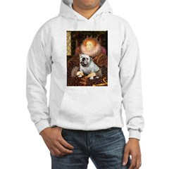 The Queen's English BUlldog Hoodie