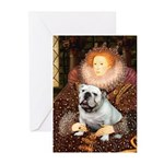 The Queen's English BUlldog Greeting Cards (Pk of