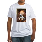 The Queen's English BUlldog Fitted T-Shirt