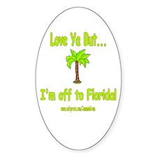 LYB FLORIDA Oval Decal