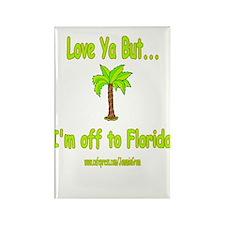LYB FLORIDA Rectangle Magnet