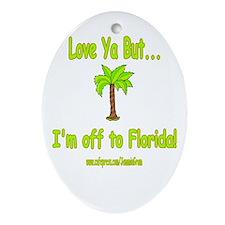 LYB FLORIDA Oval Ornament
