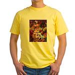 The Path / Two English Bulldogs Yellow T-Shirt