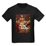 The Path / Two English Bulldogs Kids Dark T-Shirt