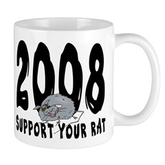 Support Your Rat 2008 Mug