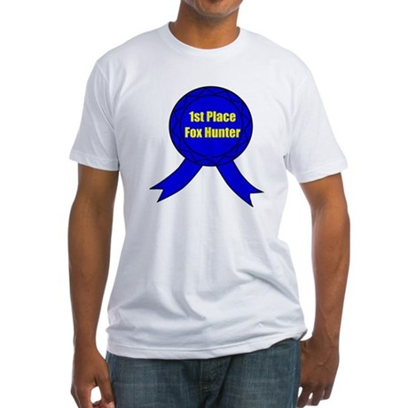 1st Place Fox Hunter Fitted T-Shirt