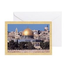 Masjid Al-Aqsa/Arabic Eid Greeting Card