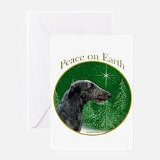 Deerhound Peace Greeting Card