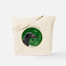 Deerhound Peace Tote Bag