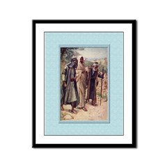 Emmaus-Copping-9x12 Framed Print