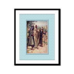 Emmaus-Copping-9x12 Framed Print