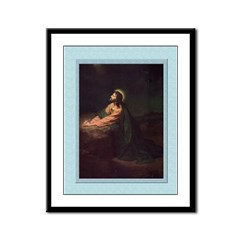 Gethsemane-Hofmann-9x12 Framed Print