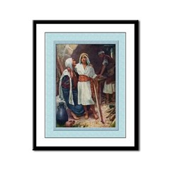 Jesus as a Boy-Copping-9x12 Framed Print