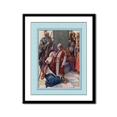 Jesus in the Temple-Copping-9x12 Framed Print