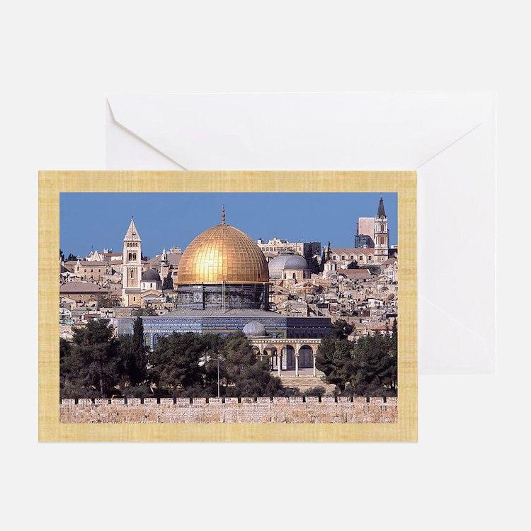 Masjid Al-Aqsa/Arabic Eid Greeting Card