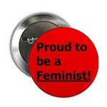 "Feminist 2.25"" Button (10 pack)"