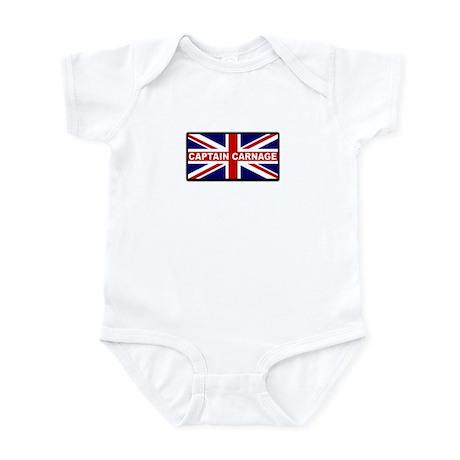 Funny Humorous Union Jack Infant Bodysuit