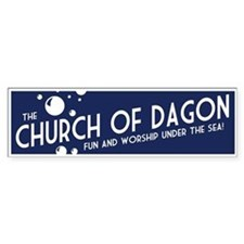 Church of Dagon Bumper Bumper Sticker