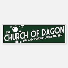 Church of Dagon Bumper Bumper Bumper Sticker