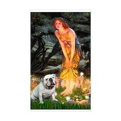 Fairies / English Bulldog Decal