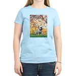 Spring/ English Bulldog (#9) Women's Light T-Shirt