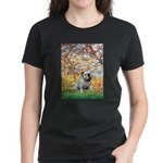 Spring/ English Bulldog (#9) Women's Dark T-Shirt