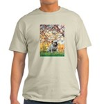Spring/ English Bulldog (#9) Light T-Shirt