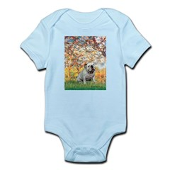 Spring/ English Bulldog (#9) Infant Bodysuit