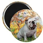 Spring/ English Bulldog (#9) Magnet