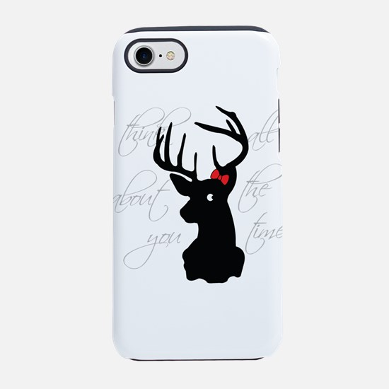 Cute I heart black people iPhone 8/7 Tough Case