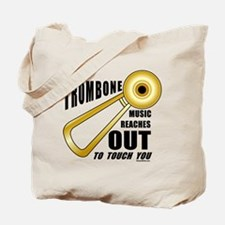 Trombone Touch Tote Bag
