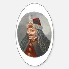 Vlad the Impaler Oval Decal