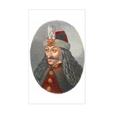 Vlad the Impaler Rectangle Decal
