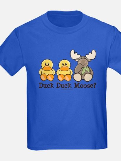 Funny Duck Duck Moose T