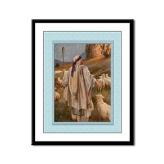 Moses & Burning Bush-Dixon- 9x12 Framed Print