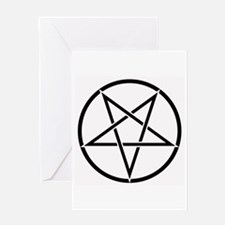 Pentagram Greeting Card