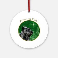 Scotty Peace Ornament (Round)