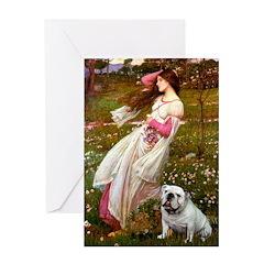 Windflowers / English BD (#9) Greeting Card