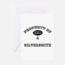 Property of a Silversmith Greeting Cards (Pk of 10