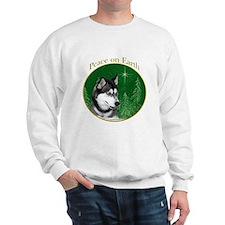 Husky Peace Sweatshirt