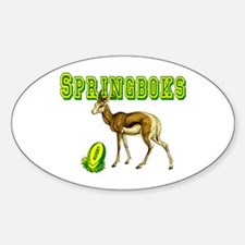 Springbok Rugby Oval Decal