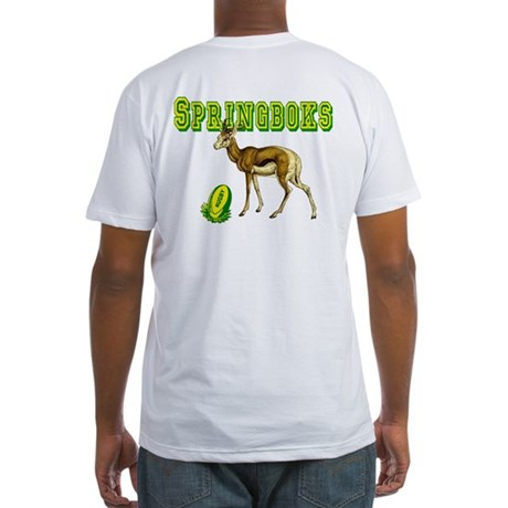 Springbok Rugby Fitted T-Shirt