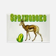 Springbok Rugby Rectangle Magnet