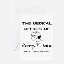 Harry P. Ness Greeting Card