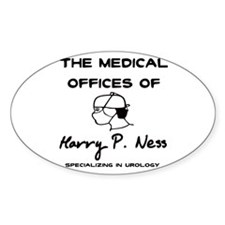 Harry P. Ness Oval Decal